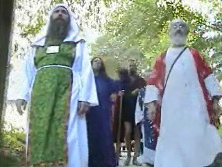 Druid Procession for the Ceremony